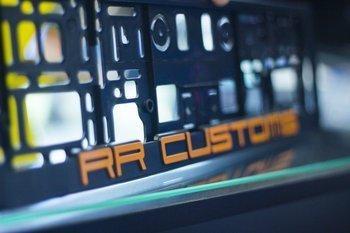 Ramka na tablice rejestracyjną  3D RRCustoms