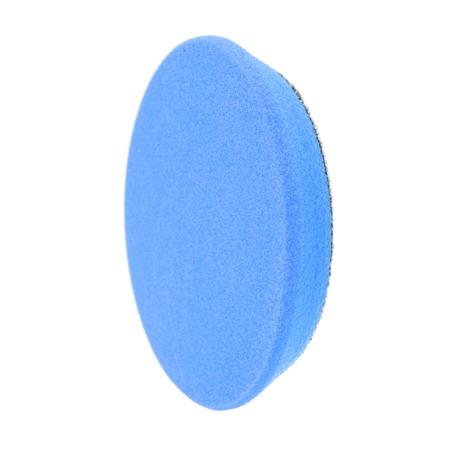 RRC PRO Niebieska Twarda gąbka polerska 135mm / Pad polerski
