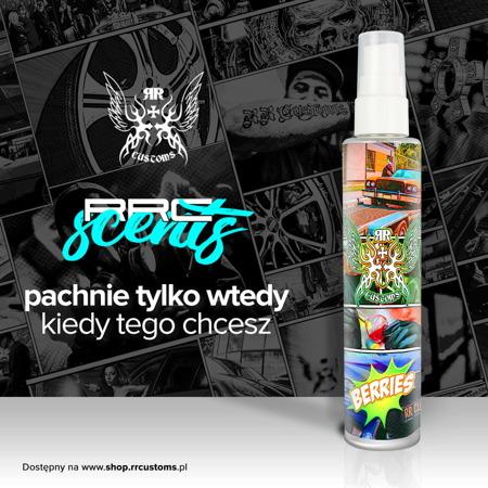 RRC Scents - Odświeżacz powietrza - Zapach Berries - 100ml + Zawieszka