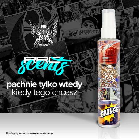 RRC Scents - Odświeżacz powietrza - Zapach Orange - 100ml + Zawieszka